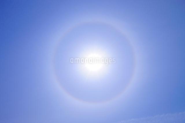 太陽内暈の写真素材 [FYI01441624]