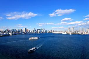 東京港の風景の写真素材 [FYI01441825]