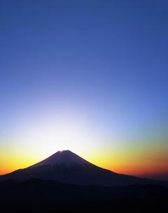 富士山の日の出の写真素材 [FYI01442370]