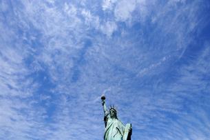 お台場の自由の女神像の写真素材 [FYI01442824]
