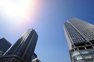 丸ビルと新丸ビルの写真素材 [FYI01443066]