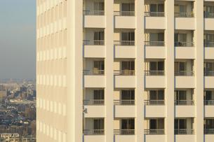 綺麗な高層住宅の窓の写真素材 [FYI01443224]