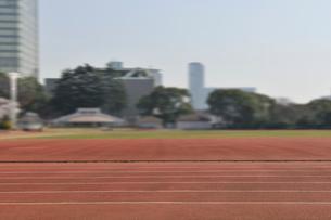 代々木公園陸上競技場の写真素材 [FYI01443381]
