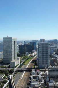 世界貿易センター展望台より見る南方向の眺めの写真素材 [FYI01443410]