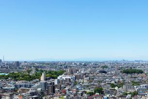 練馬区役所展望ロビーより北方向の眺めの写真素材 [FYI01443459]