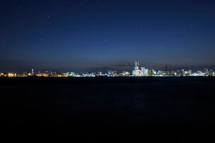 横浜港の夜景の写真素材 [FYI01443482]