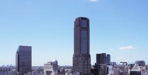渋谷ヒカリエから見る南西方向の眺めの写真素材 [FYI01443503]