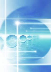 透明の球体のイラスト素材 [FYI01444095]
