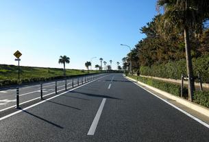 舞浜海岸の自動車道路の写真素材 [FYI01444280]