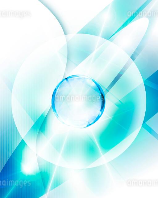 球体と光のイメージの写真素材 [FYI01444388]