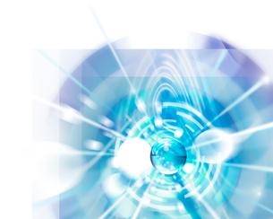 球体と光のイメージの写真素材 [FYI01444550]