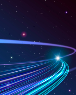 伸びる光の写真素材 [FYI01445005]