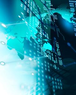ビジネスネットワークイメージの写真素材 [FYI01445166]