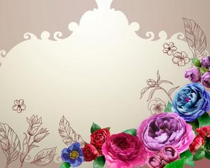 花とイラストのイラスト素材 [FYI01445178]