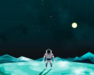 宇宙旅行のイラスト素材 [FYI01445230]