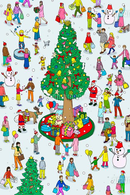 クリスマスのイラスト素材 [FYI01445371]