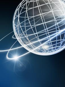 ビジネスネットワークイメージの写真素材 [FYI01445390]