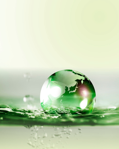 水と地球の写真素材 [FYI01445401]