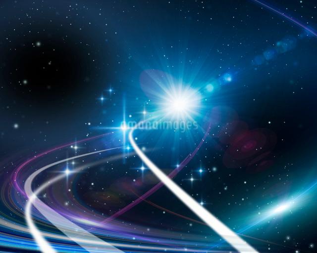 宇宙イメージの写真素材 [FYI01445429]