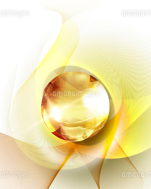 光る球体の写真素材 [FYI01445473]