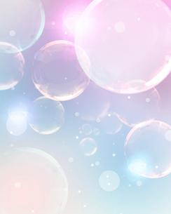 空とシャボン玉の写真素材 [FYI01445474]