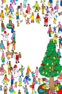 クリスマスのイラスト素材 [FYI01445536]