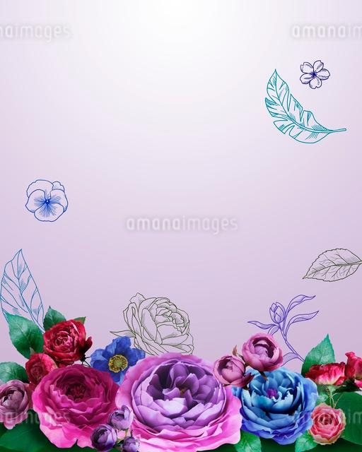 花とイラストのイラスト素材 [FYI01445550]