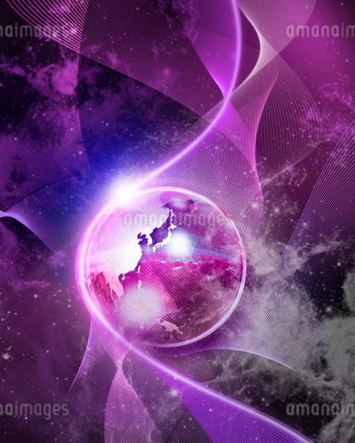 ガラスの地球の写真素材 [FYI01445645]