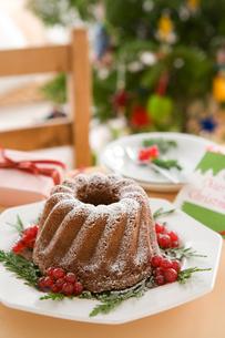 クリスマスケーキの写真素材 [FYI01445840]