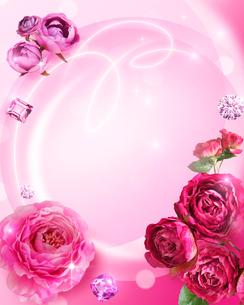 花と宝石のイラスト素材 [FYI01445861]