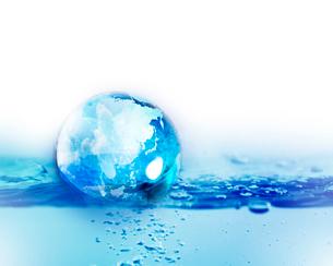 水と地球の写真素材 [FYI01446075]