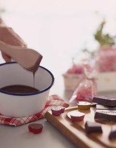 チョコレート作りの写真素材 [FYI01446096]