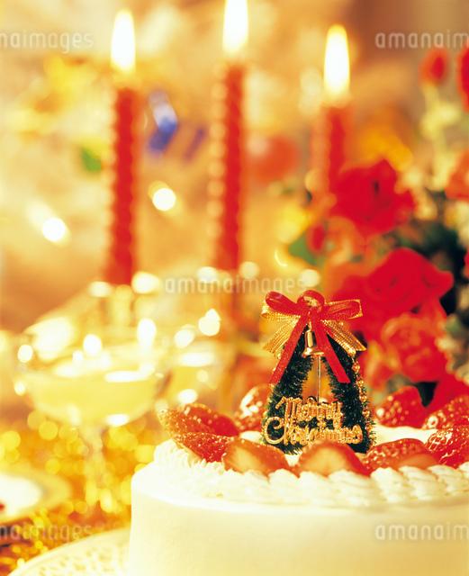 クリスマスケーキの写真素材 [FYI01446216]