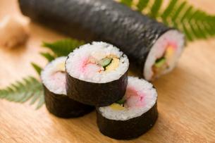 巻寿司の写真素材 [FYI01446303]