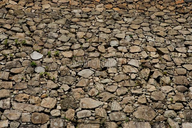 小倉城の石垣の写真素材 [FYI01446326]