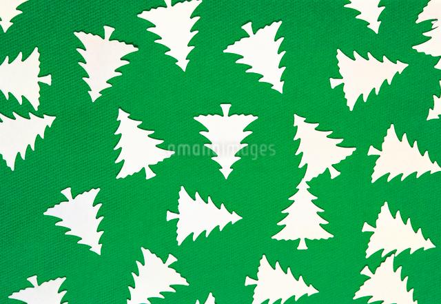 クリスマスツリーパターンの写真素材 [FYI01449193]