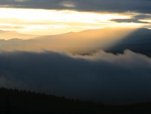 朝の大地の写真素材 [FYI01450241]