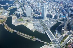 ランドマークタワーから横浜の景色の写真素材 [FYI01450247]