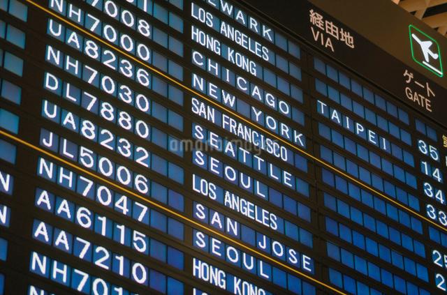成田空港の案内板の写真素材 [FYI01450324]