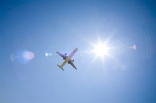 旅客機の写真素材 [FYI01450892]