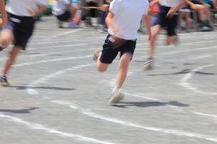 運動会徒競走の足の写真素材 [FYI01451705]