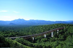 三国峠 朝の松見大橋の写真素材 [FYI01451986]