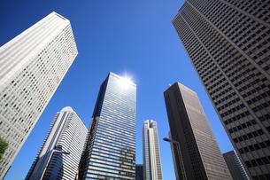 新宿高層ビルの写真素材 [FYI01452368]