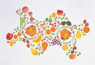 フルーツのパターンのイラスト素材 [FYI01452433]