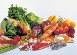 いろいろな食材の写真素材 [FYI01452435]