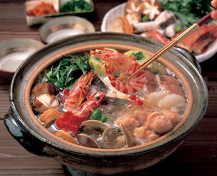鍋料理の写真素材 [FYI01452607]