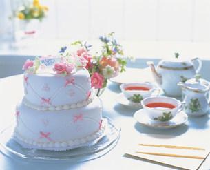 ウエディングケーキの写真素材 [FYI01452693]