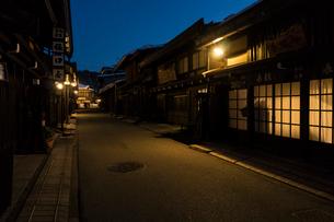 飛騨高山の街並みの写真素材 [FYI01452818]