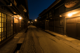 飛騨高山の街並みの写真素材 [FYI01452990]