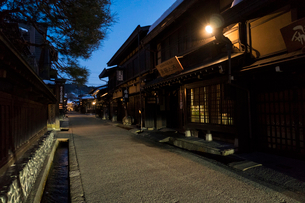 飛騨高山の街並みの写真素材 [FYI01453003]